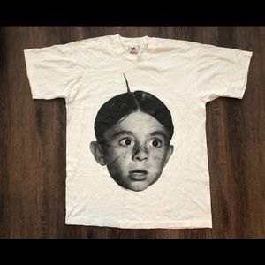 VTG LITTLE RASCALS ALFALFA T SHIRT 1993 L our gang